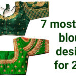 Top 7 most trendy blouse designs for 2021