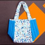 Cutting and sewing daily use handbag