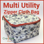 Sew multi-utility bag to store small item at home