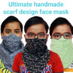 4 Ultimate video tutorial of handmade scarf design face mask
