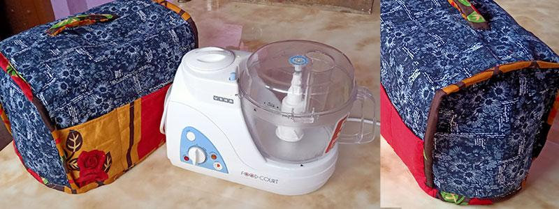 sew mixer grinder cover at home