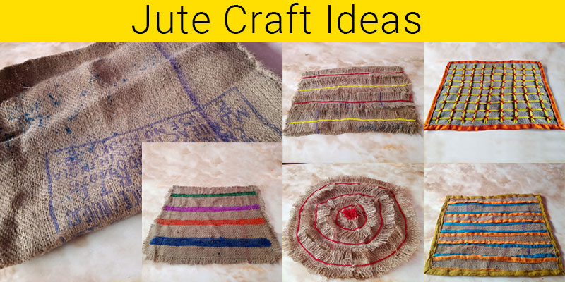 Jute craft ideas