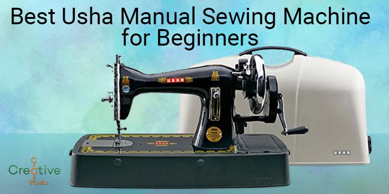Usha Manual Sewing Machine for Beginners